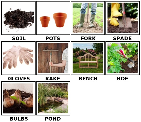 100 Pics Gardening Answers 1