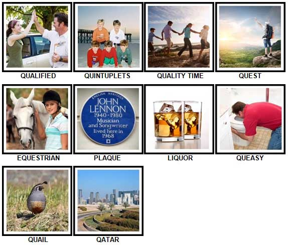 100 Pics Q is In Level 61-70 Answers