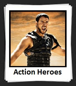 100 Pics Action Heroes Level 31 Answers