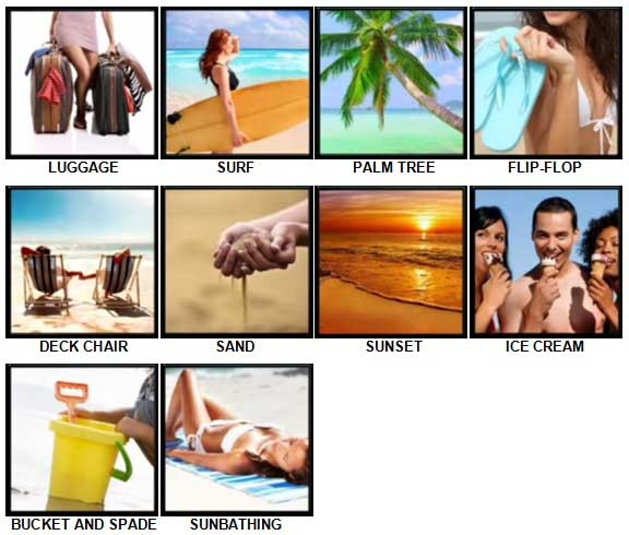 100 Pics Holidays Answers 1-10
