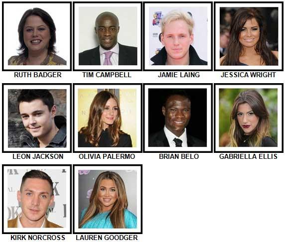100 Pics Reality TV Stars Answers 81-90