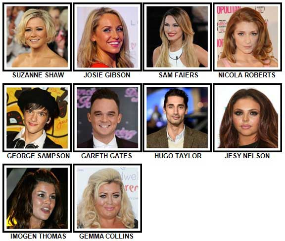 100 Pics Reality TV Stars Level 41-50 Answers