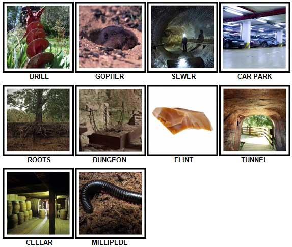 100 Pics Underground Level 31-40