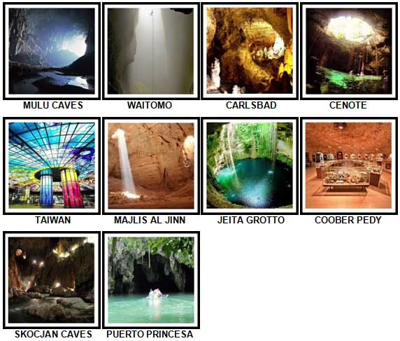 100 Pics Underground Level 91-100 Answers