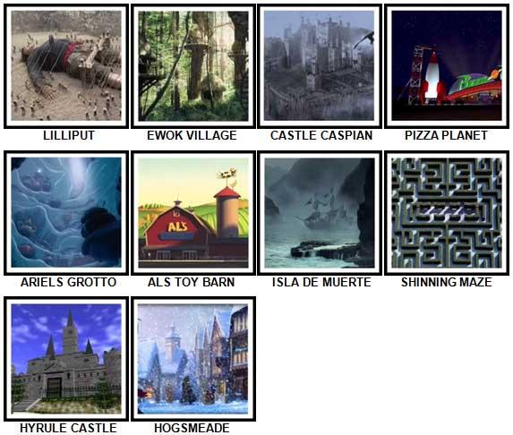 100 Pics Fantasy Lands 2 Level 51-60