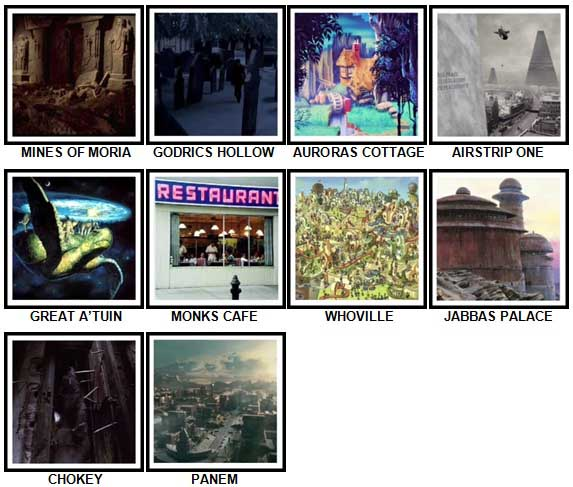 100 Pics Fantasy Lands 2 Level 81-90