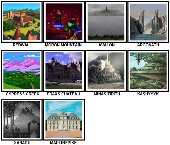 100 Pics Fantasy Lands 2 Level 91-100