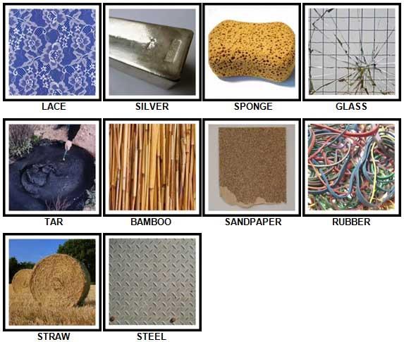 100 Pics Materials Level 11-20