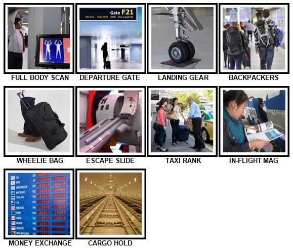 100 Pics Airport Answers 51-60