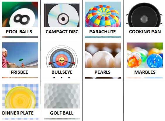 100 Pics Circular Level 31-40 Answers