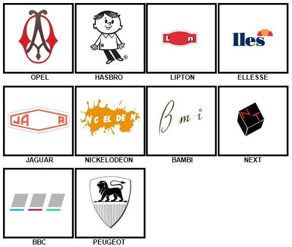 100 Pics Retro Logos Answers 71-80