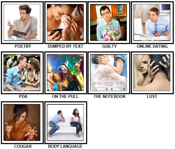 100 Pics Love Level 71-80 Answers