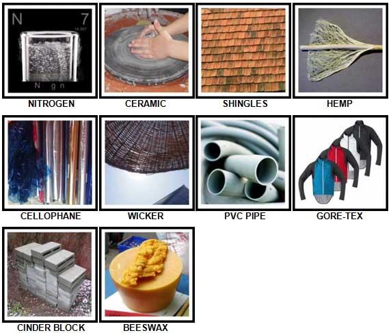 100 Pics Materials Level 61-70