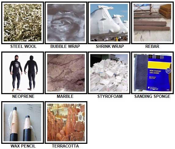 100 Pics Materials Level 71-80