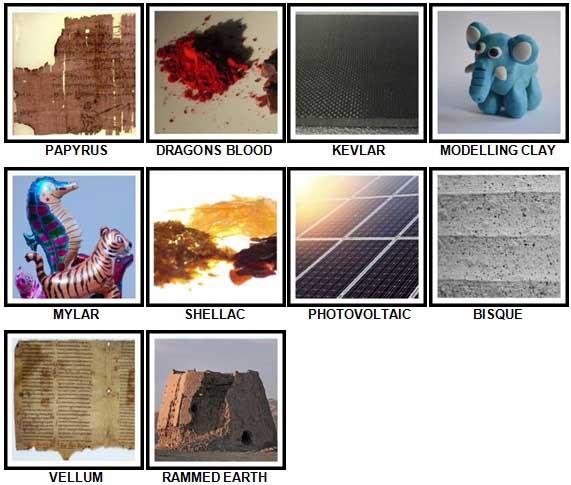 100 Pics Materials Level 91-100