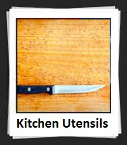 100 Pics Kitchen Utensils Answers