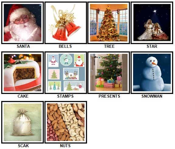 100 Pics Christmas Answers 1-10