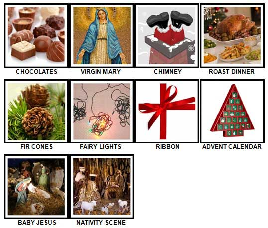 100 Pics Christmas Answers 41-50