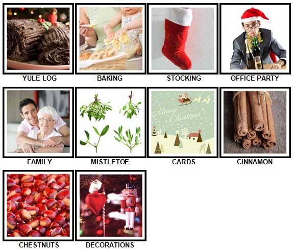 100 Pics Christmas Answers 61-70