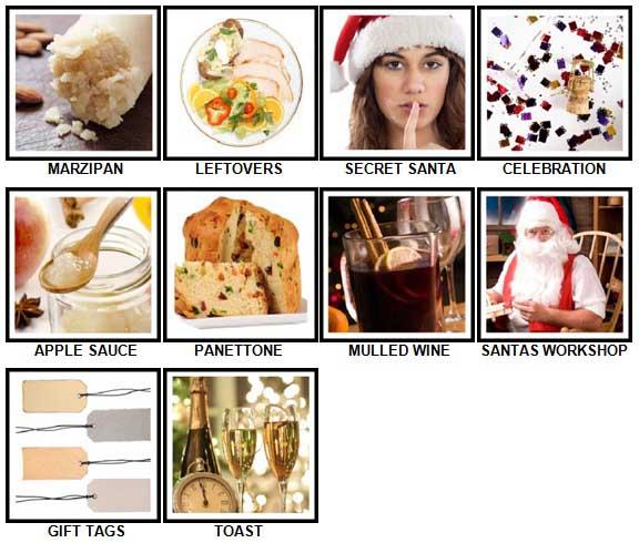 100 Pics Christmas Level 71-80 Answers | 100 Pics Answers