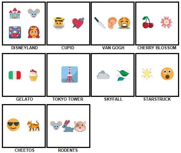100 Pics Emoji Quiz 5 Answers 81-90