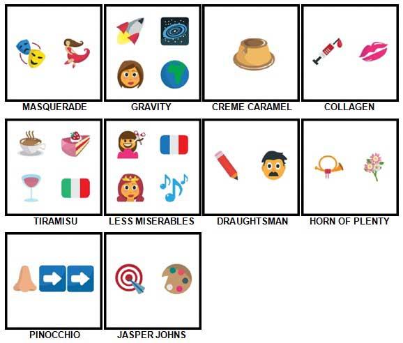 100 Pics Emoji Quiz 5 Answers 91-100