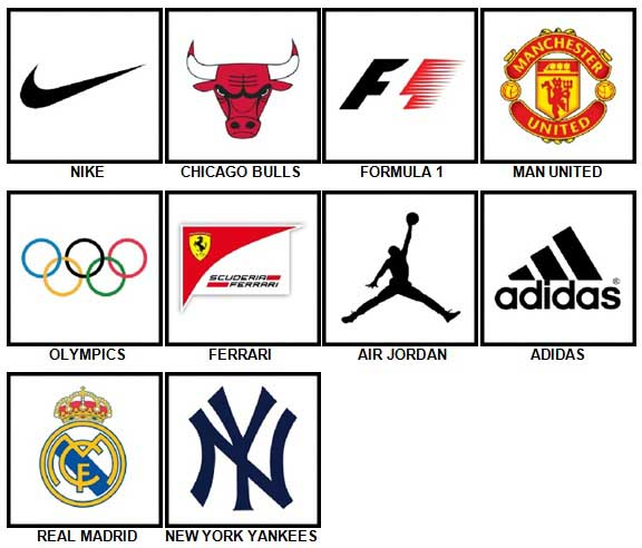 100 Pics Sports Logos Answers 100 Pics Answers