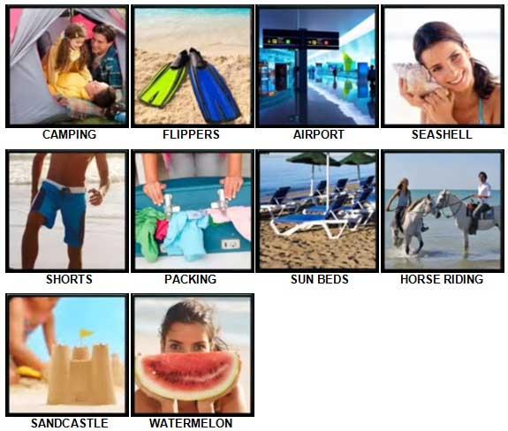 100 Pics Holidays Answers 11-20