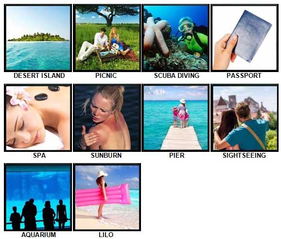 100 Pics Holidays Answers 31-40