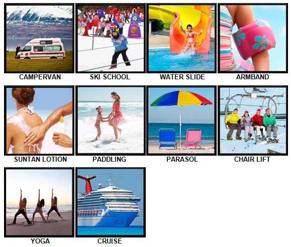 100 Pics Holidays Answers 41-50