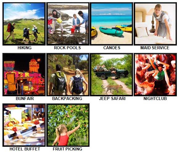 100 Pics Holidays Answers 51-60