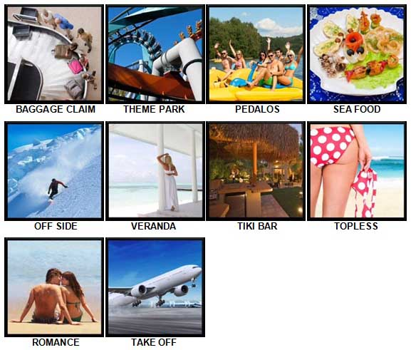 100 Pics Holidays Answers 81-90