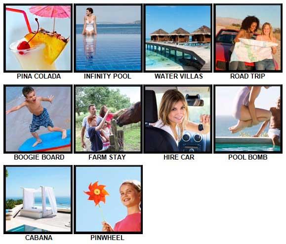 100 Pics Holidays Answers 91-100