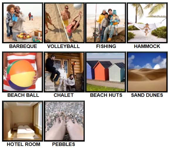 100 Pics Holidays Level 21-30 Answers