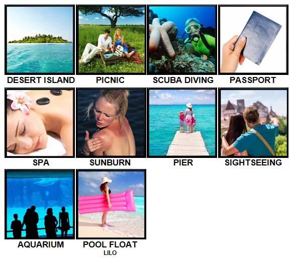 100 Pics Holidays Level 31-40 Answers
