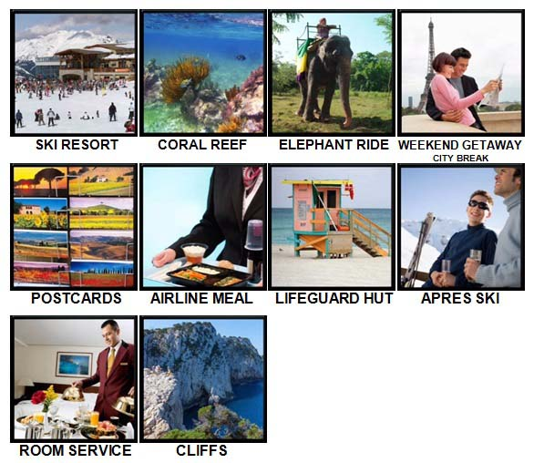 100 Pics Holidays Level 61-70 Answers