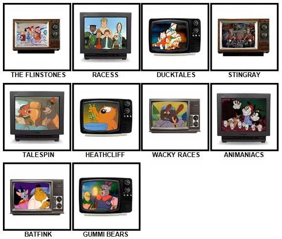 100 Pics Kids TV Classics Answers 21-30