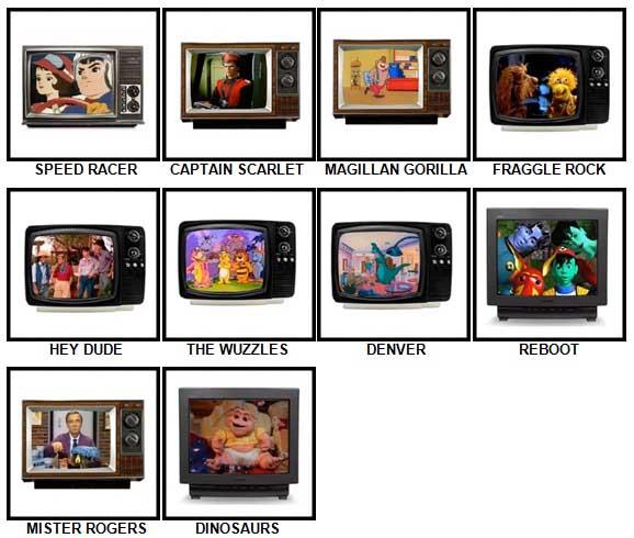 100 Pics Kids TV Classics Answers 41-50