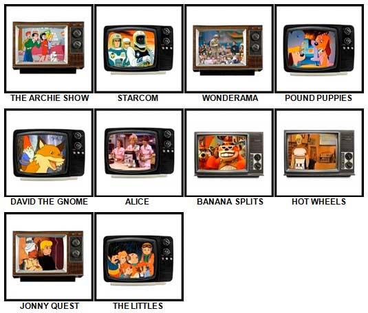 100 Pics Kids TV Classics Answers 81-90
