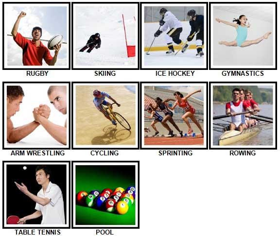 100 Pics Sports Answers 11-20