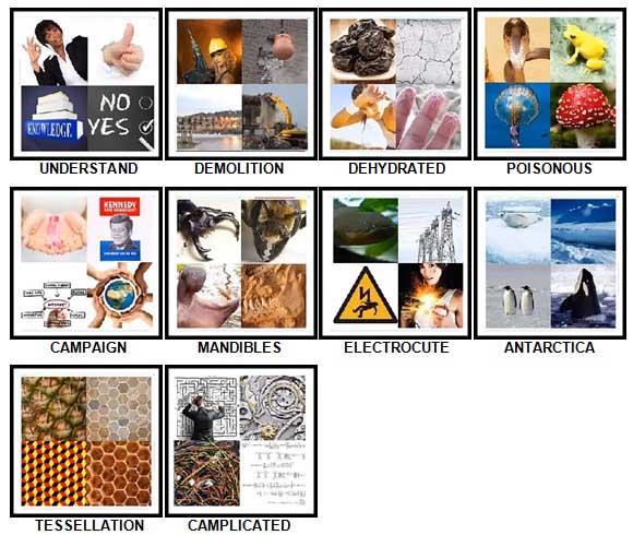 100 Pics 4 Pics Answers 91-100