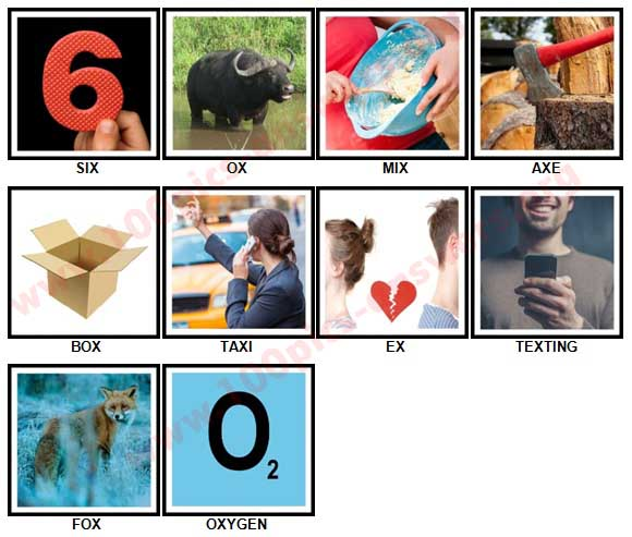 100 Pics X is In Answers 1-10