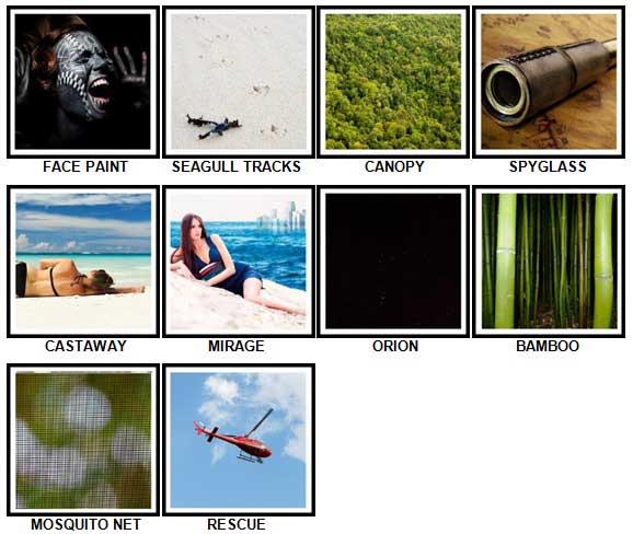 100 Pics Desert Island Answers 51-60