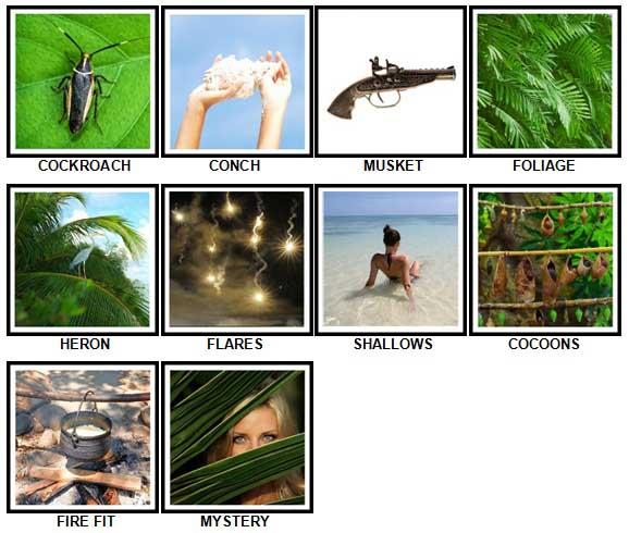 100 Pics Desert Island Answers 61-70