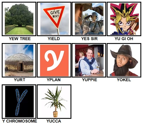 100 Pics Y is For Level 61-70 Answers