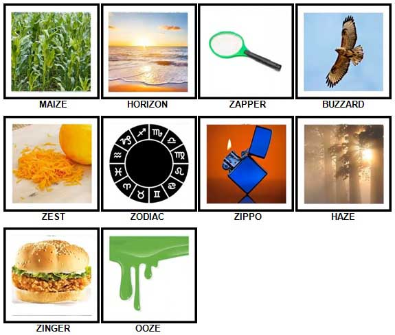 100 Pics Z is In Answers 31-40