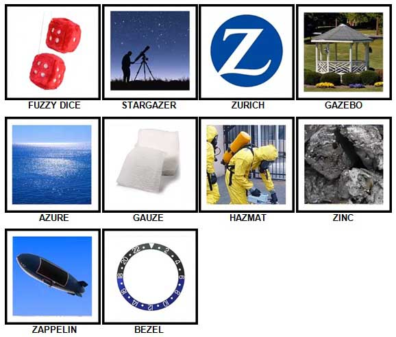 100 Pics Z is In Answers 71-80