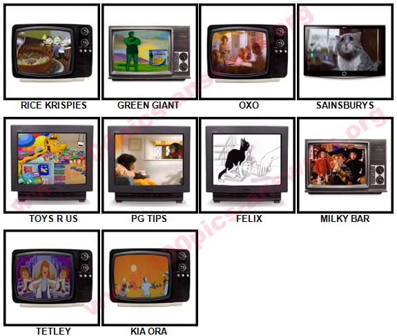100 Pics Classic Ads Answers 11-20