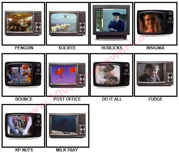 100 Pics Classic Ads Answers 91-100