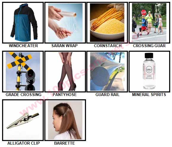 100 Pics Speak American Answers 81-90